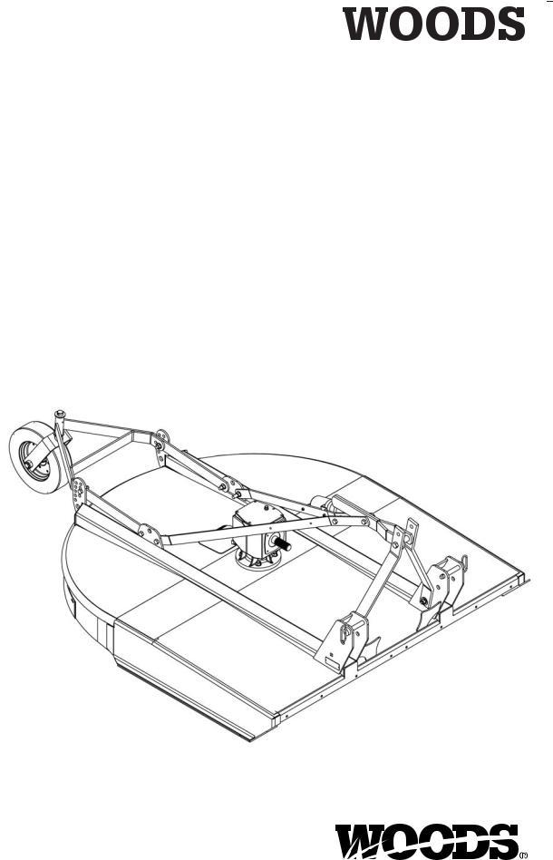 Woods Equipment BB48X, BB60X, BB84X, BB72X User Manual