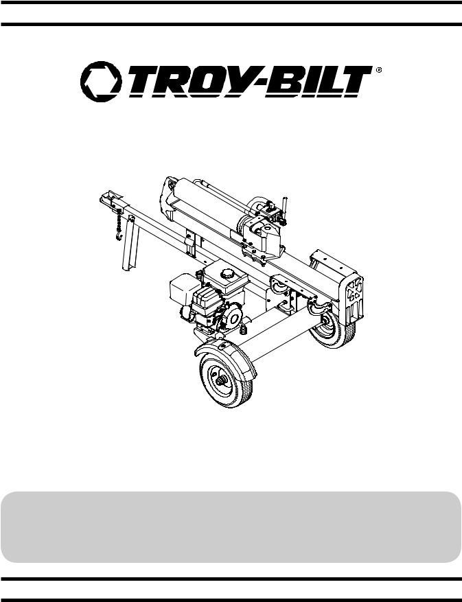 Troy-Bilt TB 33 LS Deluxe User Manual
