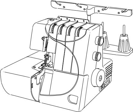 Janome 7933, MOD-Serger Instruction Manual