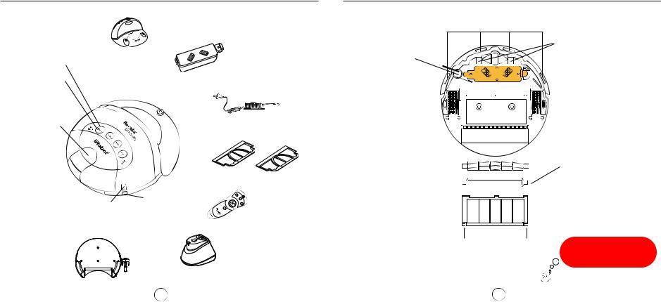 iRobot Roomba Discovery 4210, 4210 User Manual