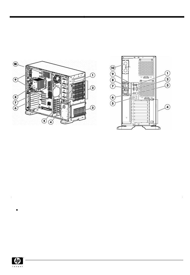 HP PROLIANT ML350 G6 User Manual