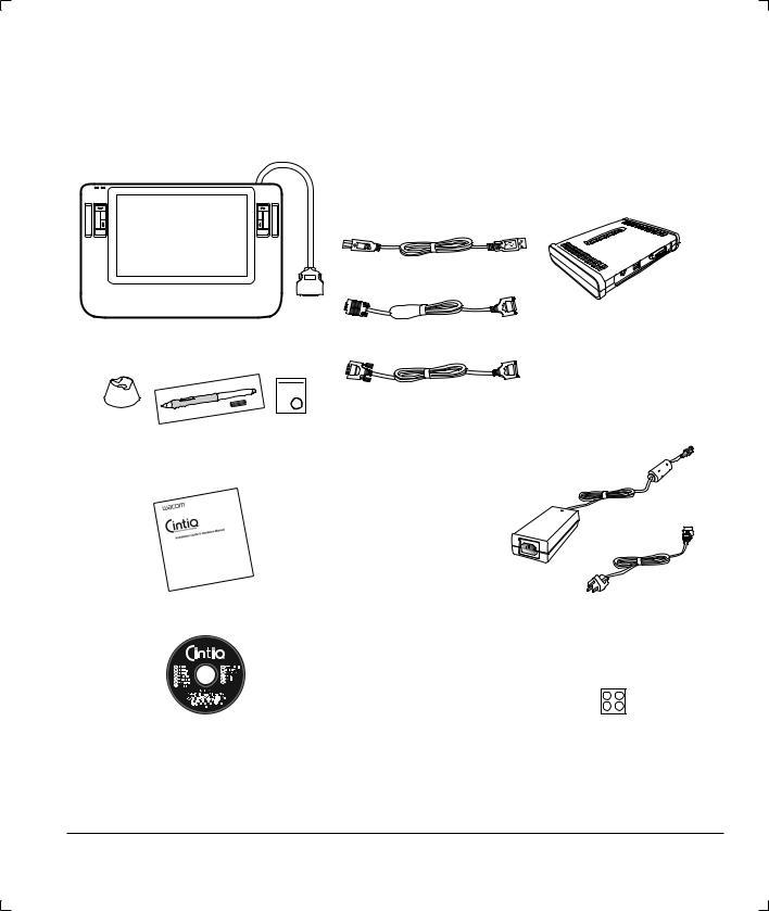 Wacom Cintiq DTZ-1200W, 12WX User Manual