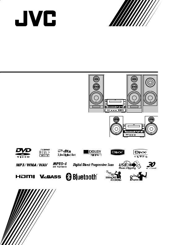 JVC CA-NXG9 User Manual