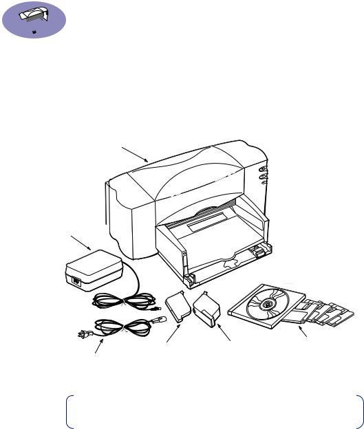 HP (Hewlett-Packard) 840c, Deskjet 842c Printer User Manual