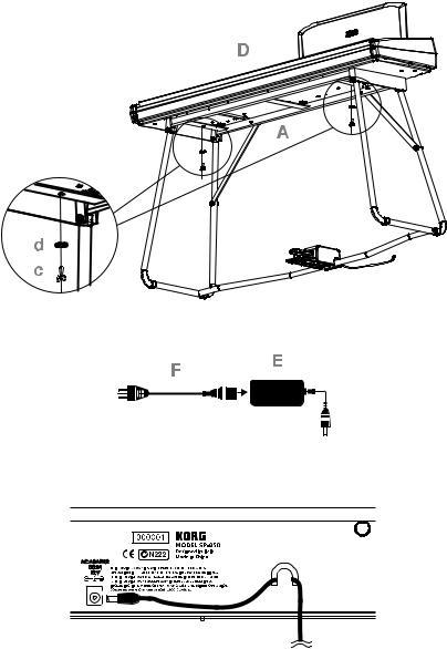 Korg SP-250 User Manual