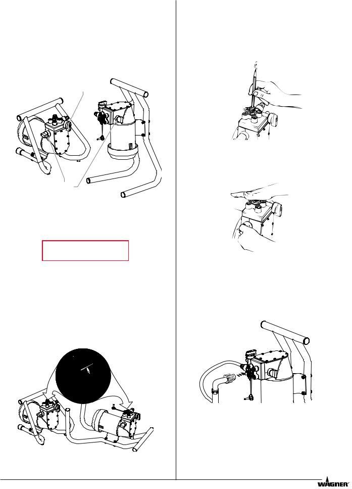 Wagner HIGH-PERFORMANCE AIRLESS SPRAYER User Manual