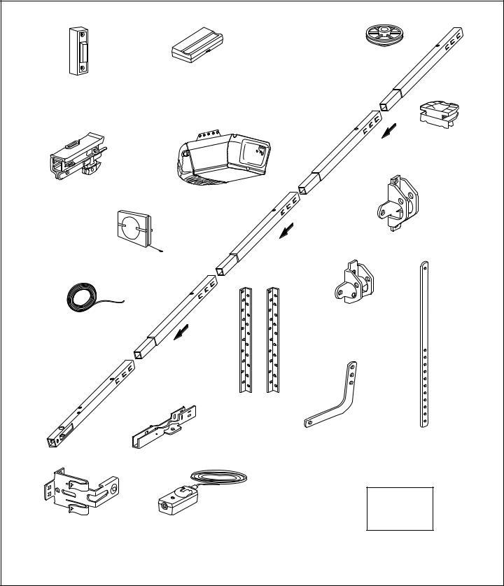 Chamberlain SECURITY HD200DM User Manual