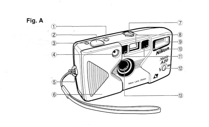 Nikon A20 User Manual