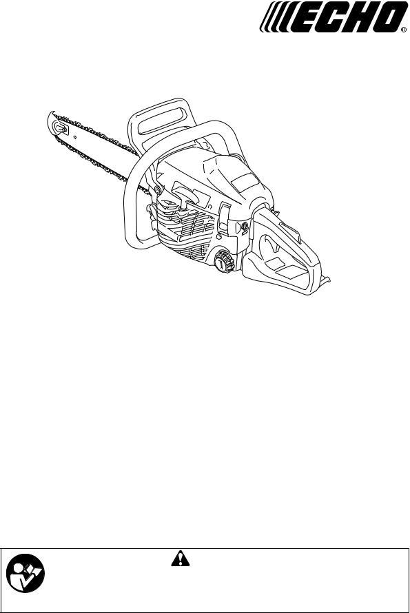 Echo CS-352 User Manual