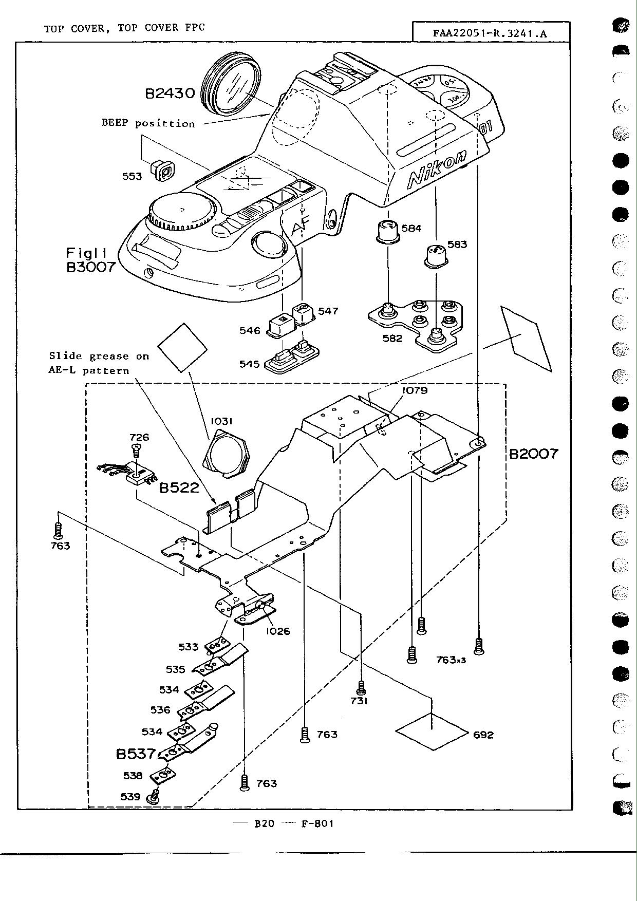 Nikon F801 Repair Manual