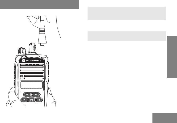 Motorola CP185 User Manual
