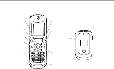 Verizon VU204, VU204, Wireless Motorola Moto VU204 User Manual