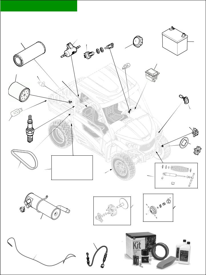 John Deere Gator RSX850I User Manual