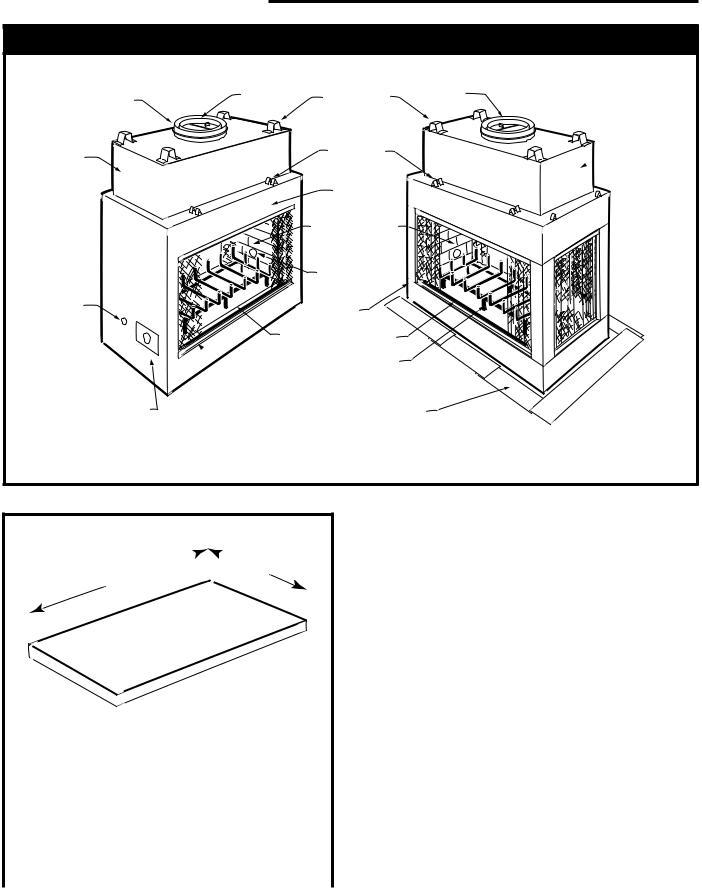 Majestic STR42, STR33, CVR36, STR36, CVR42 User Manual