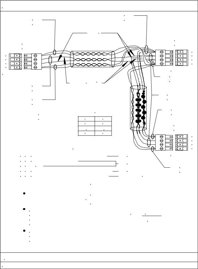 Crestron WD CRESNET TO MINI CAT5 User Manual