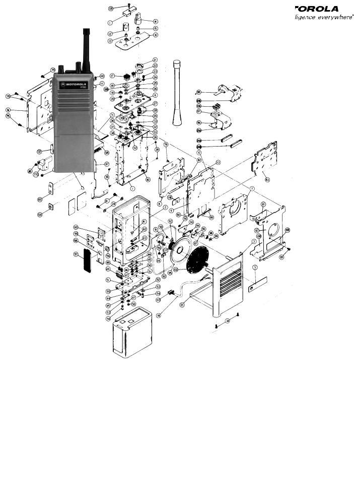 Motorola HT600 User Manual