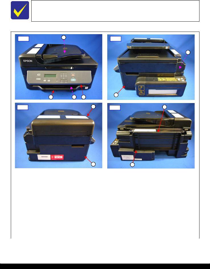 Driver Printer Epson M200 : driver, printer, epson, Epson, M200,, M201,, M205,, M100,, M101,, Service, Manual