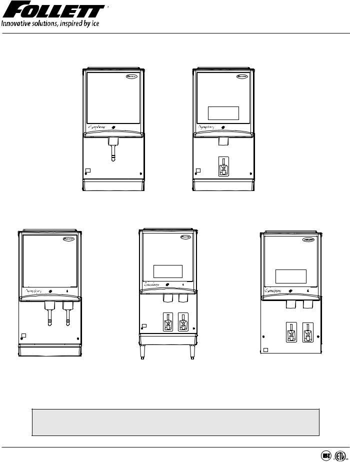 Follett 12CI425A Service Manual