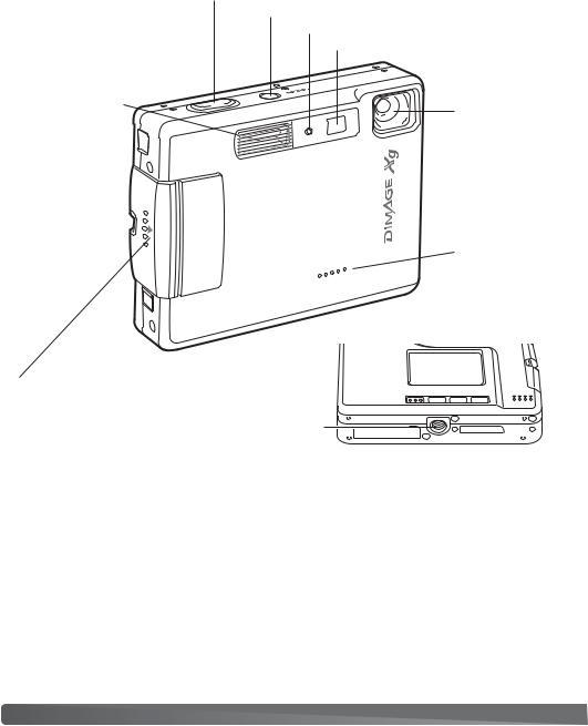 Konica Minolta DiMAGE Xg User Manual