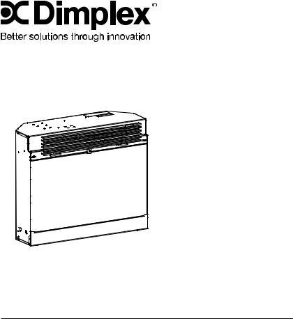 Dimplex DFB6016 User Manual