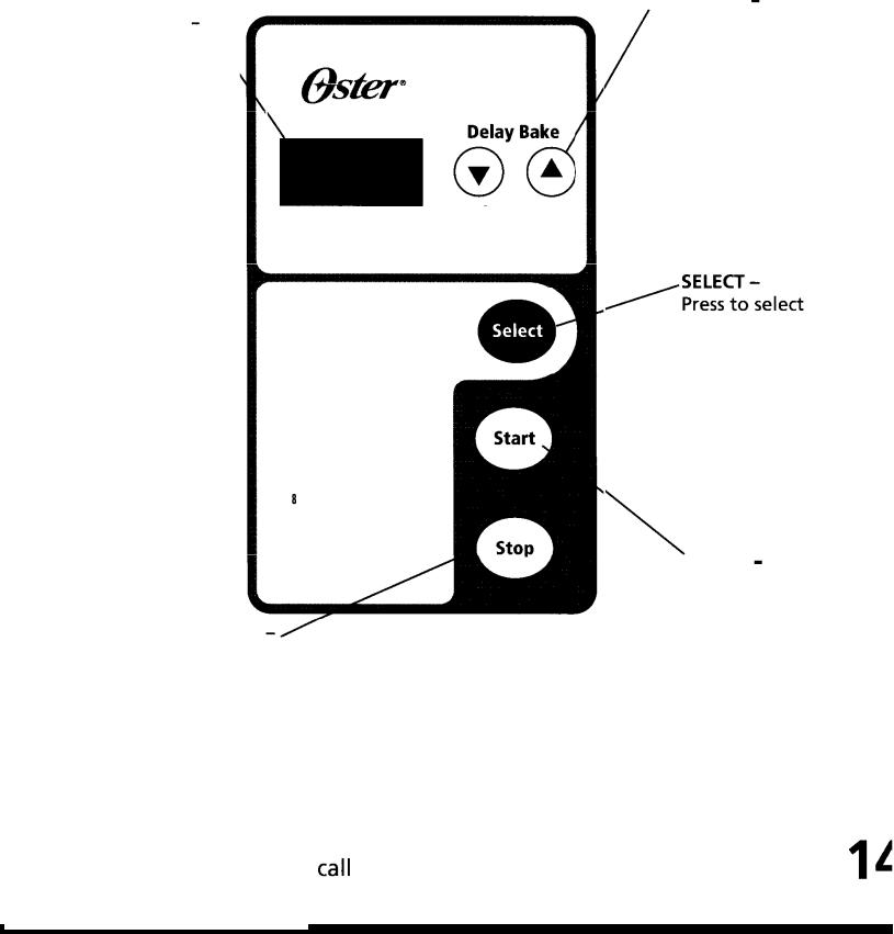 Oster 5843 User Manual