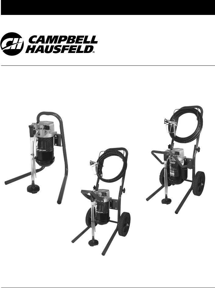 Campbell Hausfeld PS260F, PS250B, PS250E, PS231B, PS240F