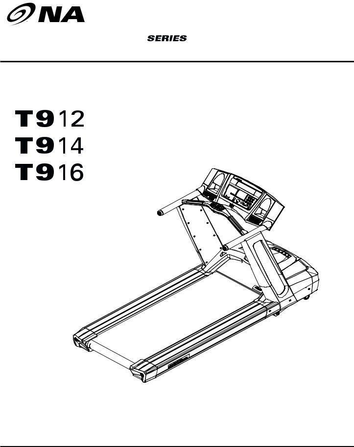 Nautilus T914, T916 User Manual