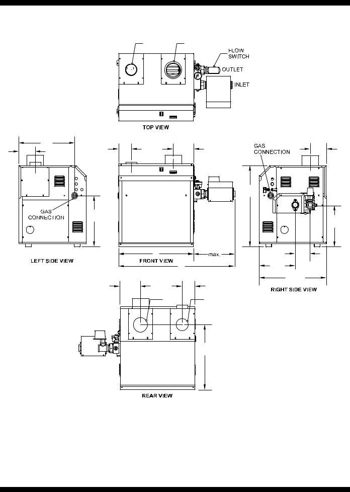 Bradford-White Copper Brute II 720-B User Manual