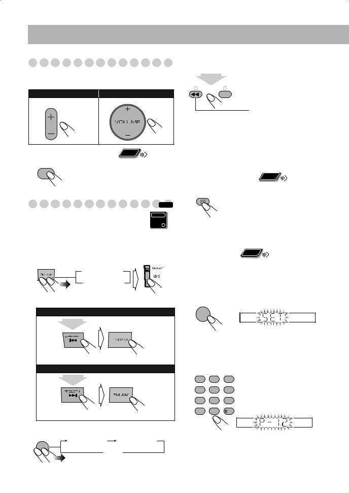 JVC CA-DXU10, CA-DXU8 User Manual