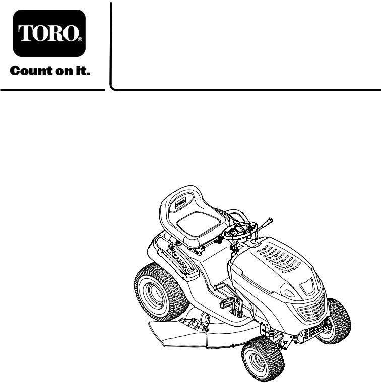 Toro LX420, LX460 User Manual