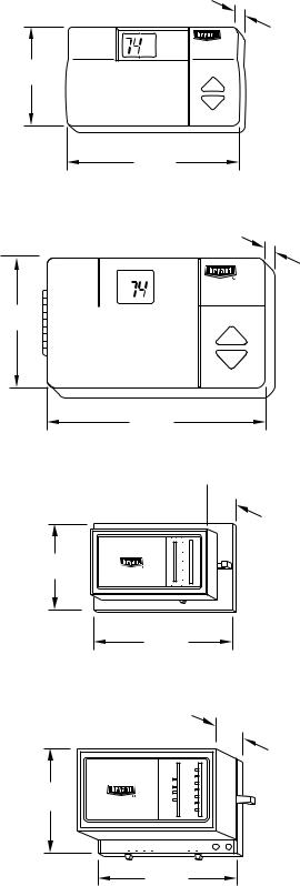 Bryant TSTAT, THERMIDISTAT TSTAT User Manual 2