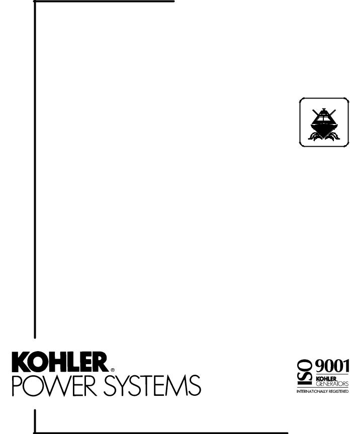 Kohler 3.5CFZ, 4CZ, 5CFZ, 6.5CZ User Manual