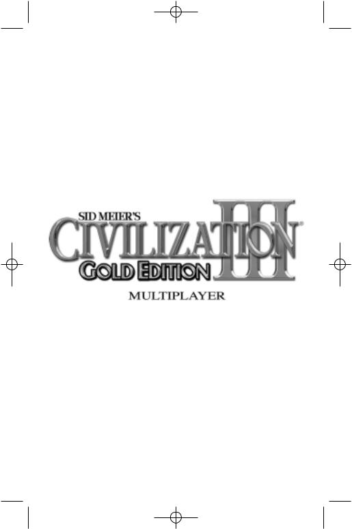 Games PC SID MEIER S-CIVILIZATION III-GOLD EDITION User Manual