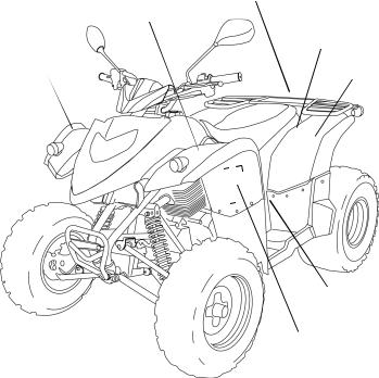 Polaris Phoenix 9922082, Phoenix 200 Quadricycle User Manual