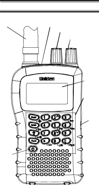 Uniden UBC72XLT User Manual
