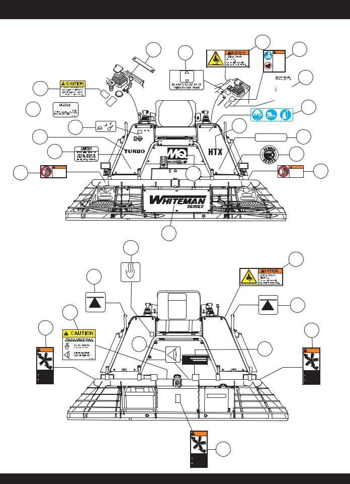 Multiquip HTX-44K5, HTX-44Y4, HTX-44K4, HTX-44Y5, HTX44K4