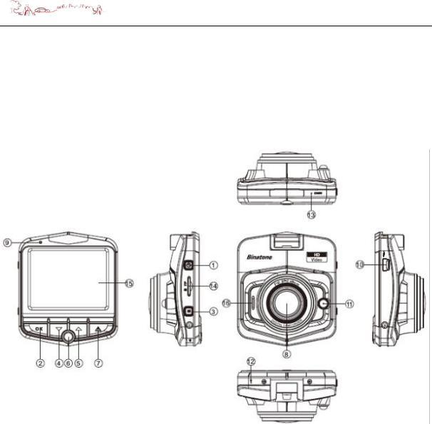 Binatone DC200 Instruction manual