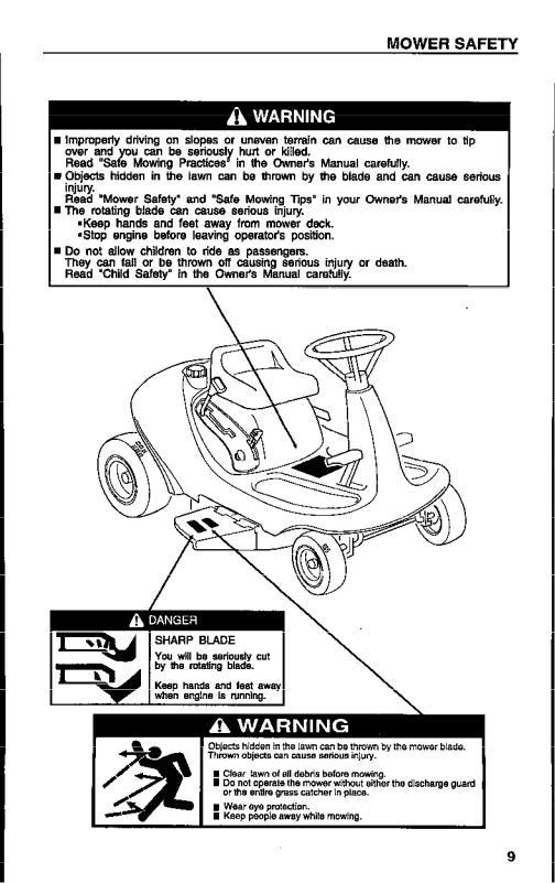 Honda Power Equipment HARMONY H1011R User Manual