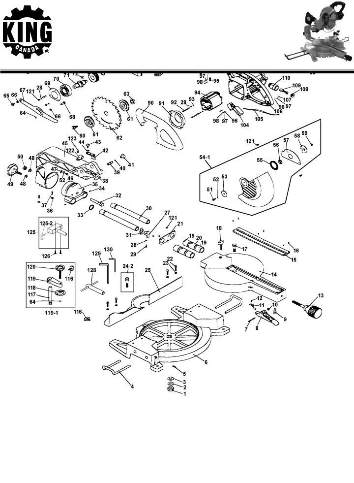 King Canada 8372N User Manual