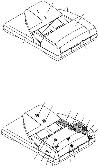 Sharp AR-5726, AR-5731 Service Manual. Parts Catalog