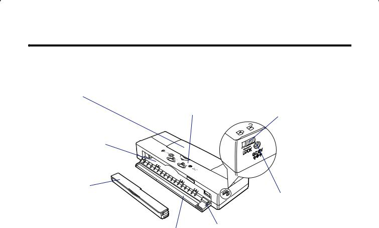 Canon BJC-55 User Manual
