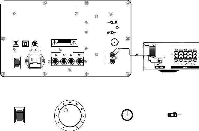 Boston Acoustics XB6 User Manual