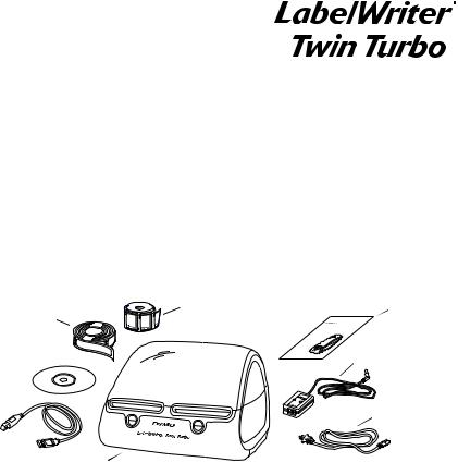 Dymo LabelWriter Twin Turbo User Manual