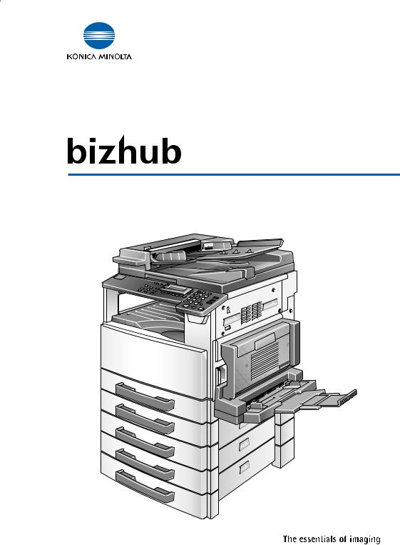 Konica Minolta BIZHUB 210, BIZHUB 162 User Manual