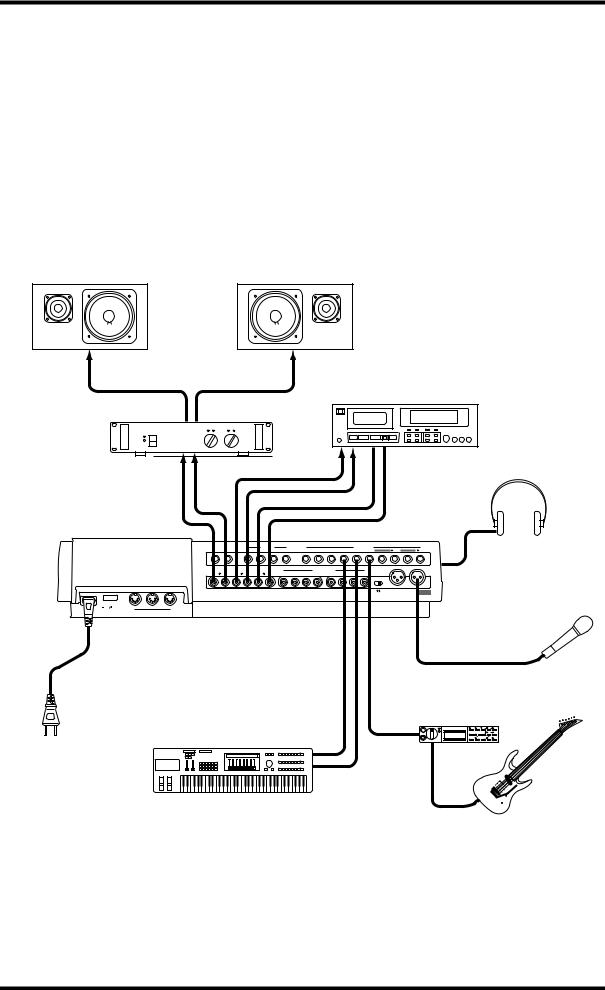 Yamaha MD8 User Manual