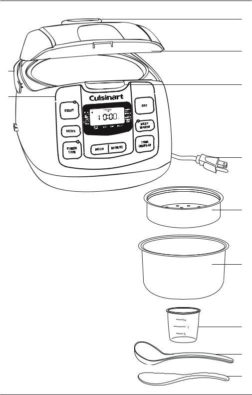 Cuisinart FRC-800 User Manual