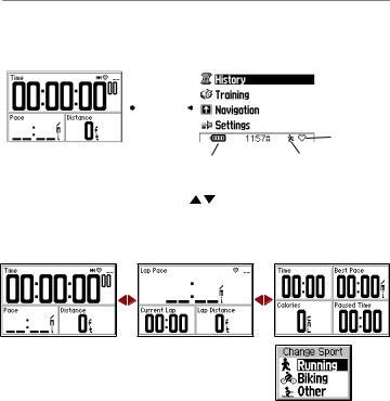 Garmin Edge 305, Forerunner 305, Forerunner 205