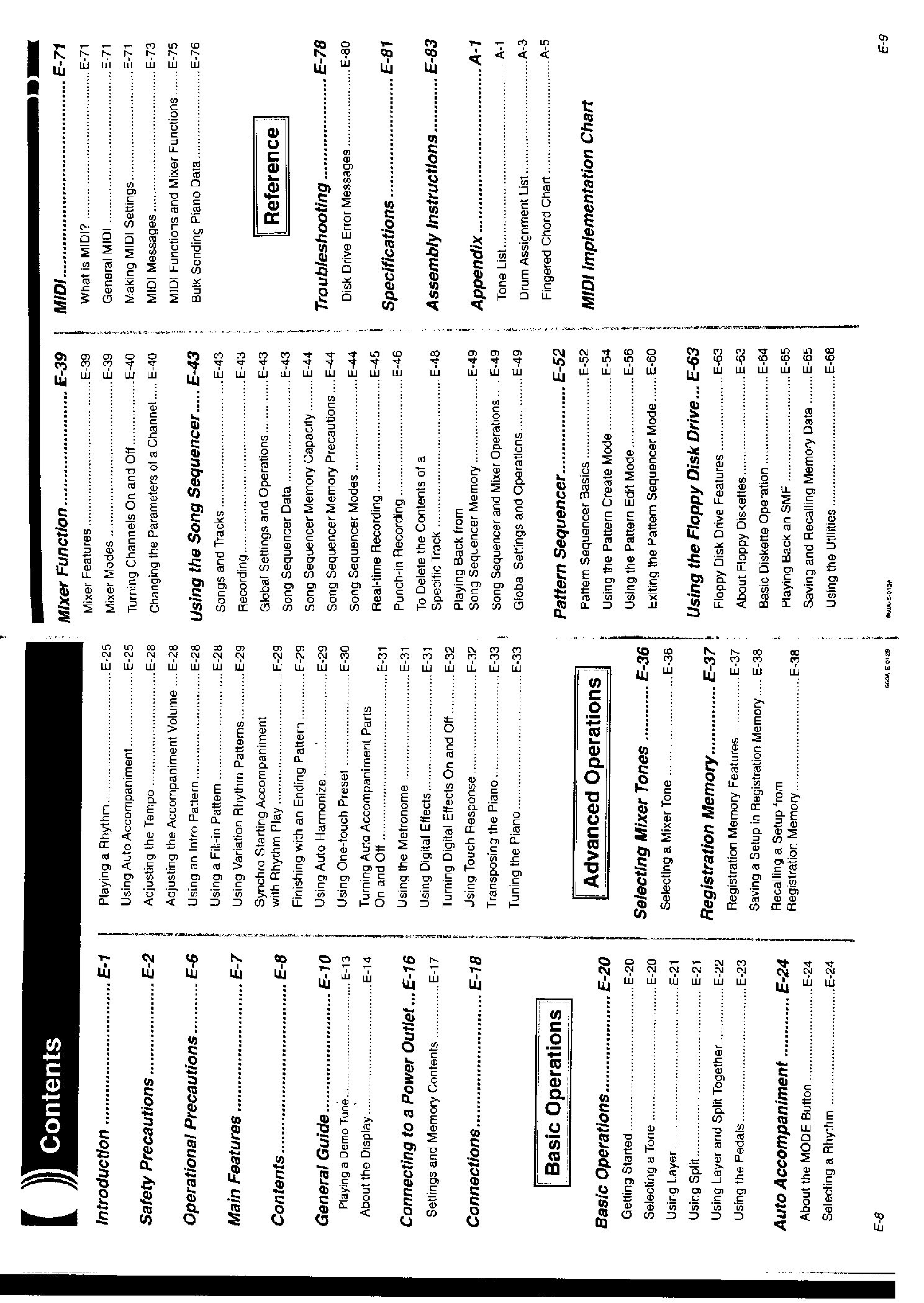 Casio AP-60R, AP-65R User Manual