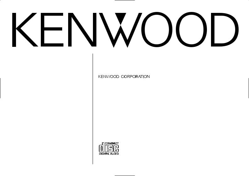 Kenwood KDC-2026, KDC-3026, KDC-226, KDC-126S, KDC-126