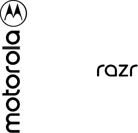 Motorola Razr XT2000-1 User Manual